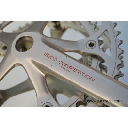 Vintage Edco Competition Crankset Swiss Made 170mm 52/42