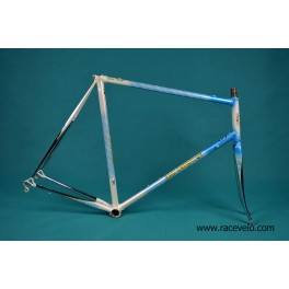 Vintage Somec Frame and Fork Columbus SPX Tubing campagnolo dropouts 60cm