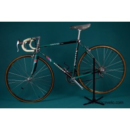 Vintage Villiger TVT 92 Carbone one of the first Carbon Bicycle full Suntour Superbe Pro